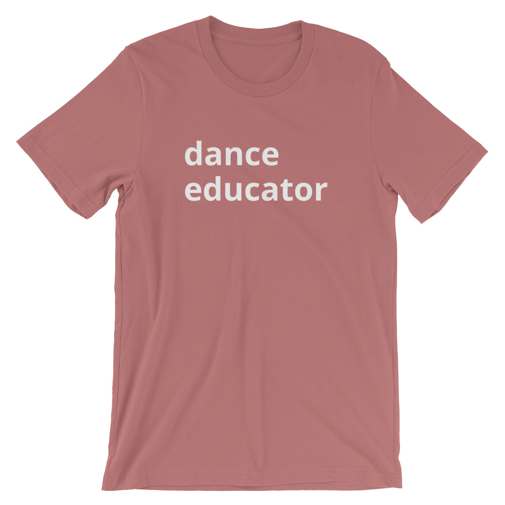 The Faculty - Mauve Dance Educator T-Shirt · Dance Nerd