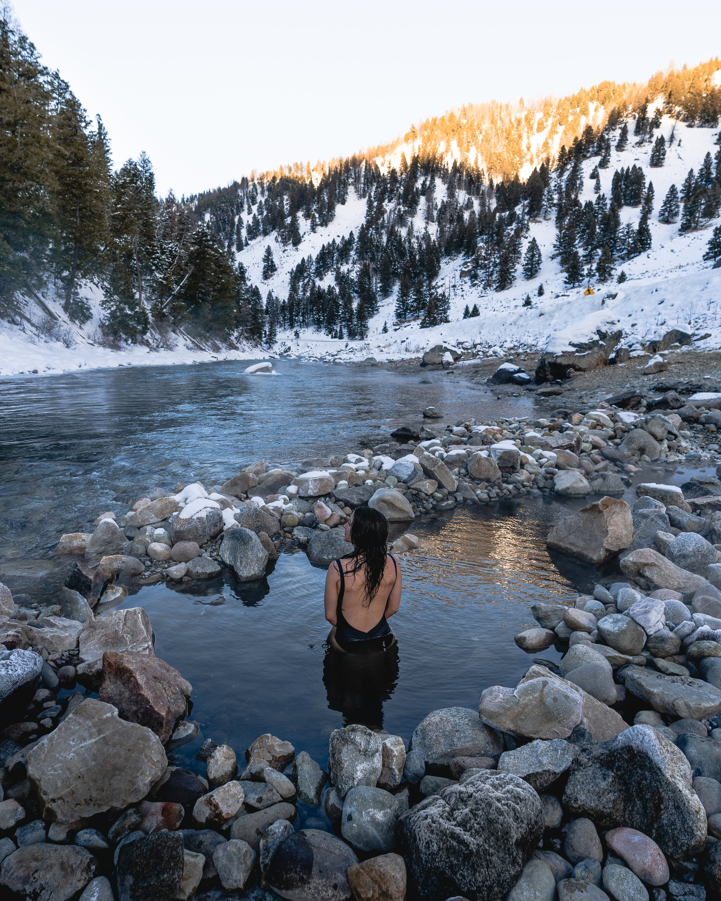 hot spring hopping around Idaho — ANGELA LIGUORI