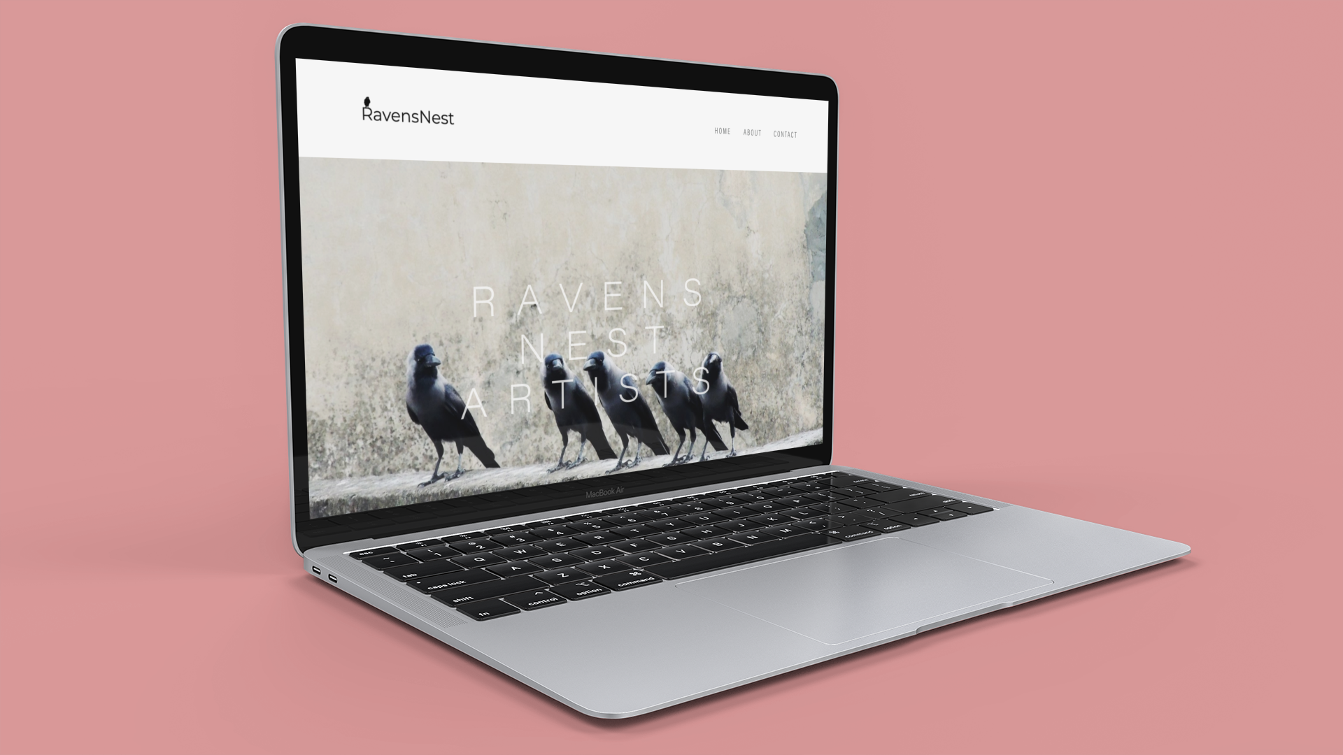 Ravens Nest Artists Management   Brand Story/Logo/Copy/Web Design?SEO