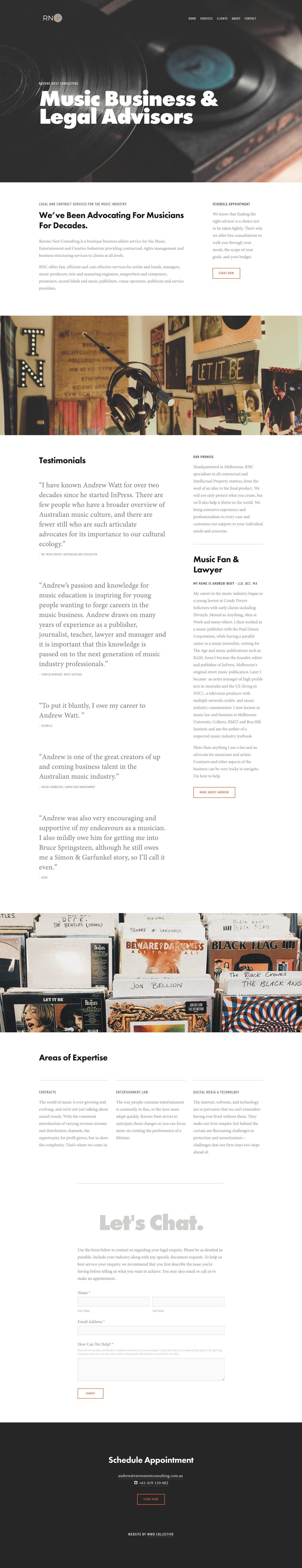 CLIENT SPOTLIGHT: Ravens Nest Consulting — Wild Willow Design