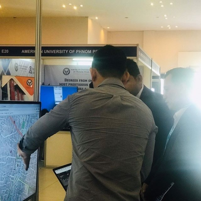 Recap our Demo at Digital Cambodia for Roserb Map, Smart Community Map