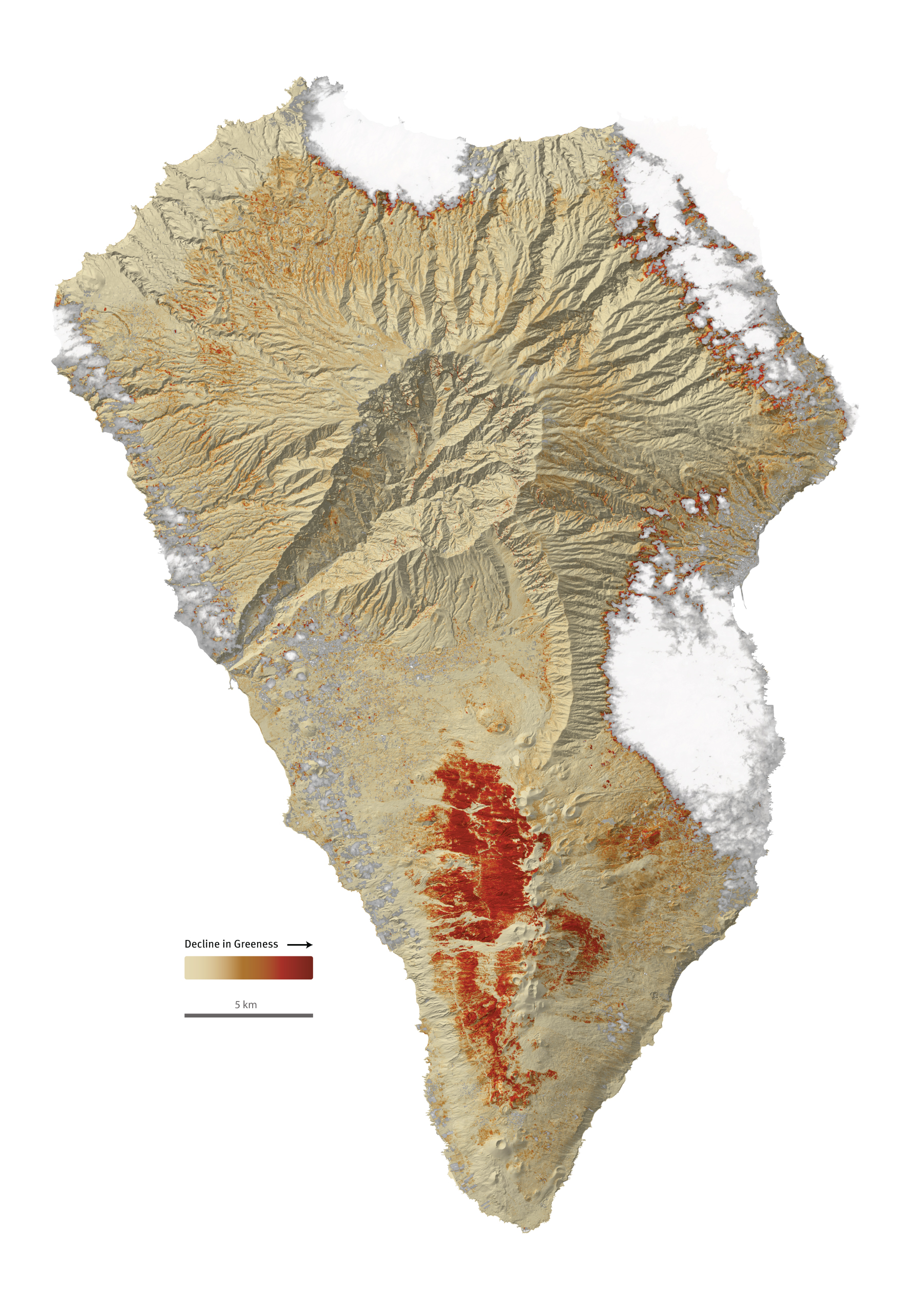 La Palma.   Produced for GRID-Arendal and the H2020 ECOPOTENTIAL project. (2017).