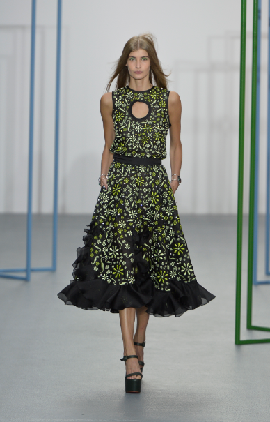 Holly Fultons S/S16 Show at London Fashion Week.