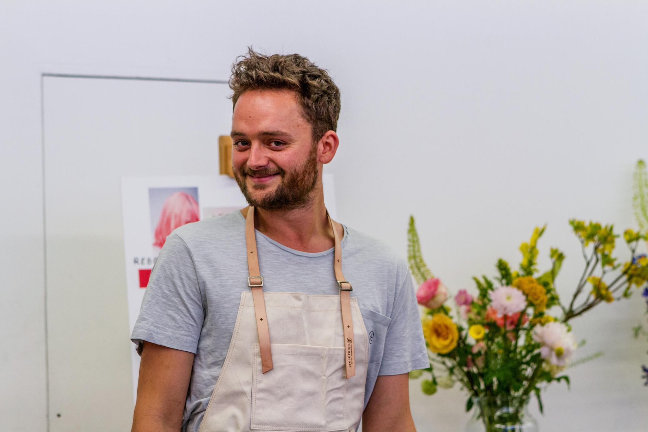 Stuart Fenwick, Bloomon's Uk Flower Stylist