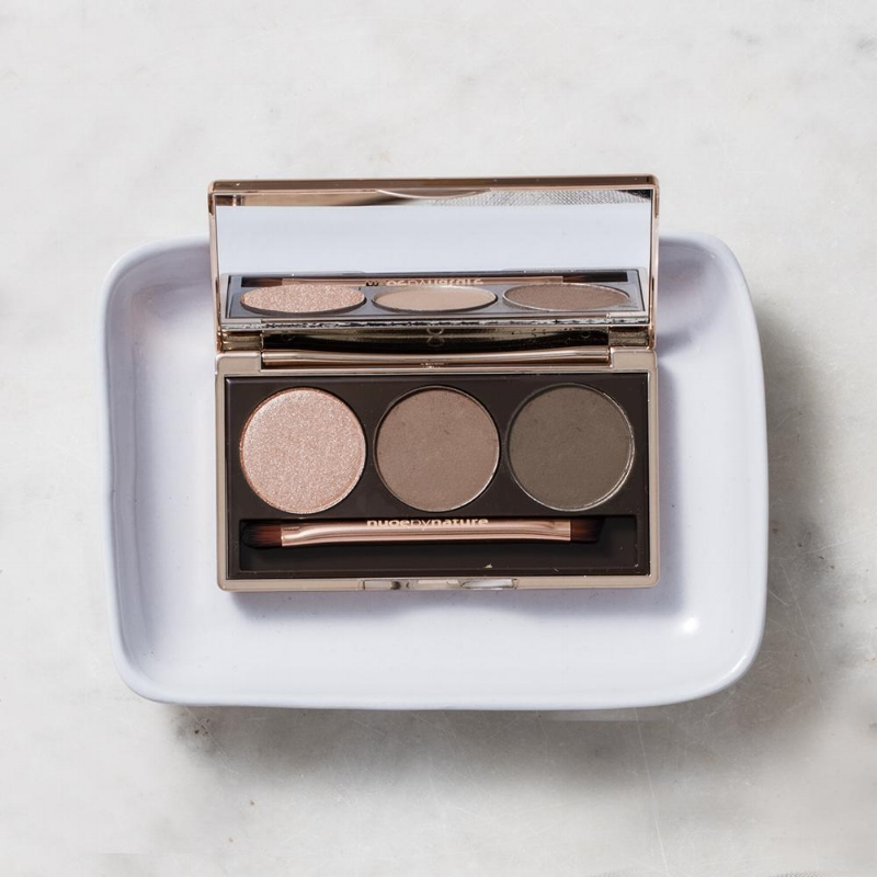Natural Illusion Eyeshadow Trio in Nude