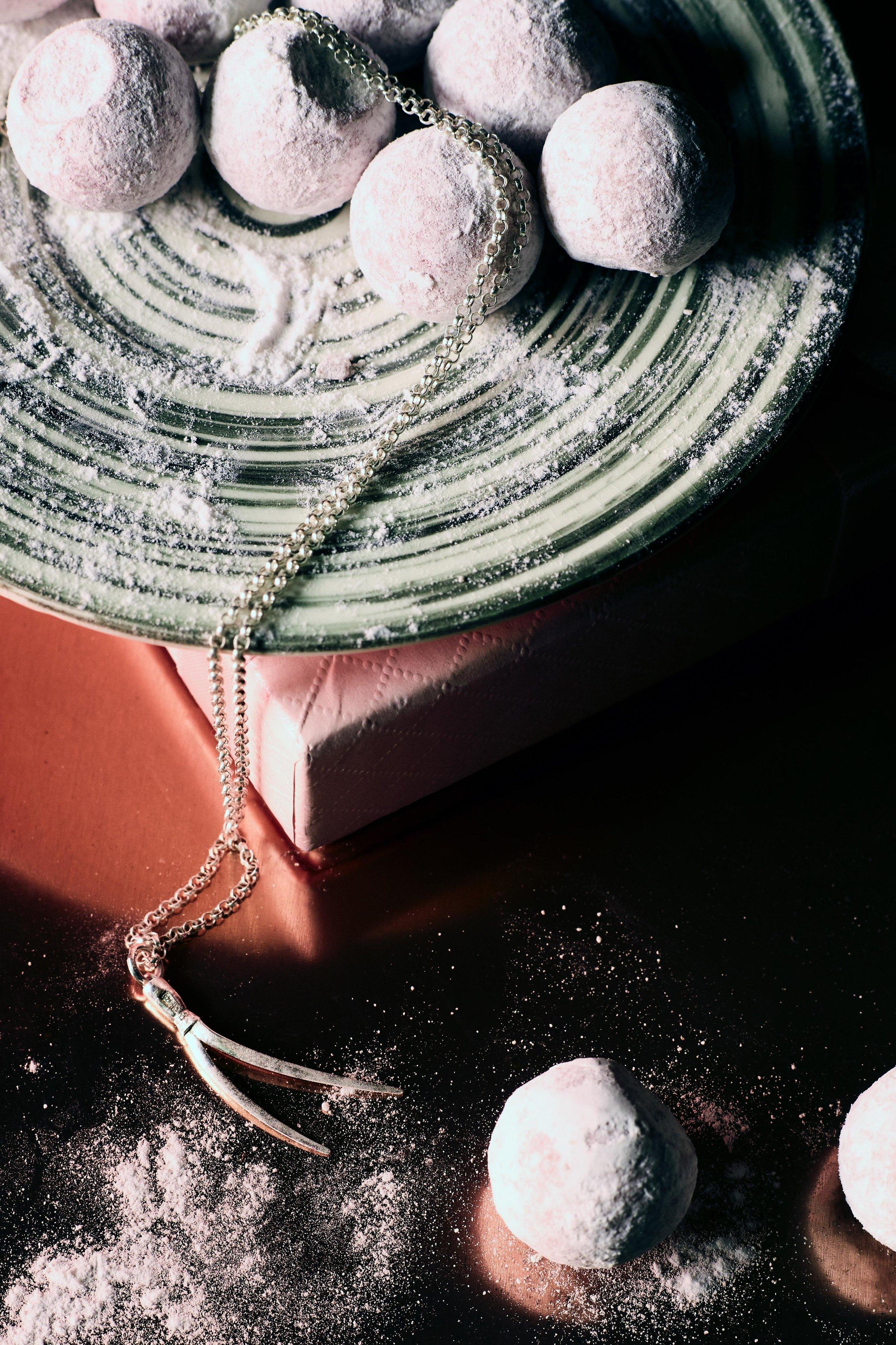 LOVIA  Petäjä Necklace Silver  €115