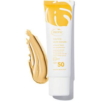 TROPIC SKINCARE - Tinted Skin Shade Facial Sun Protection SPF 50 £24