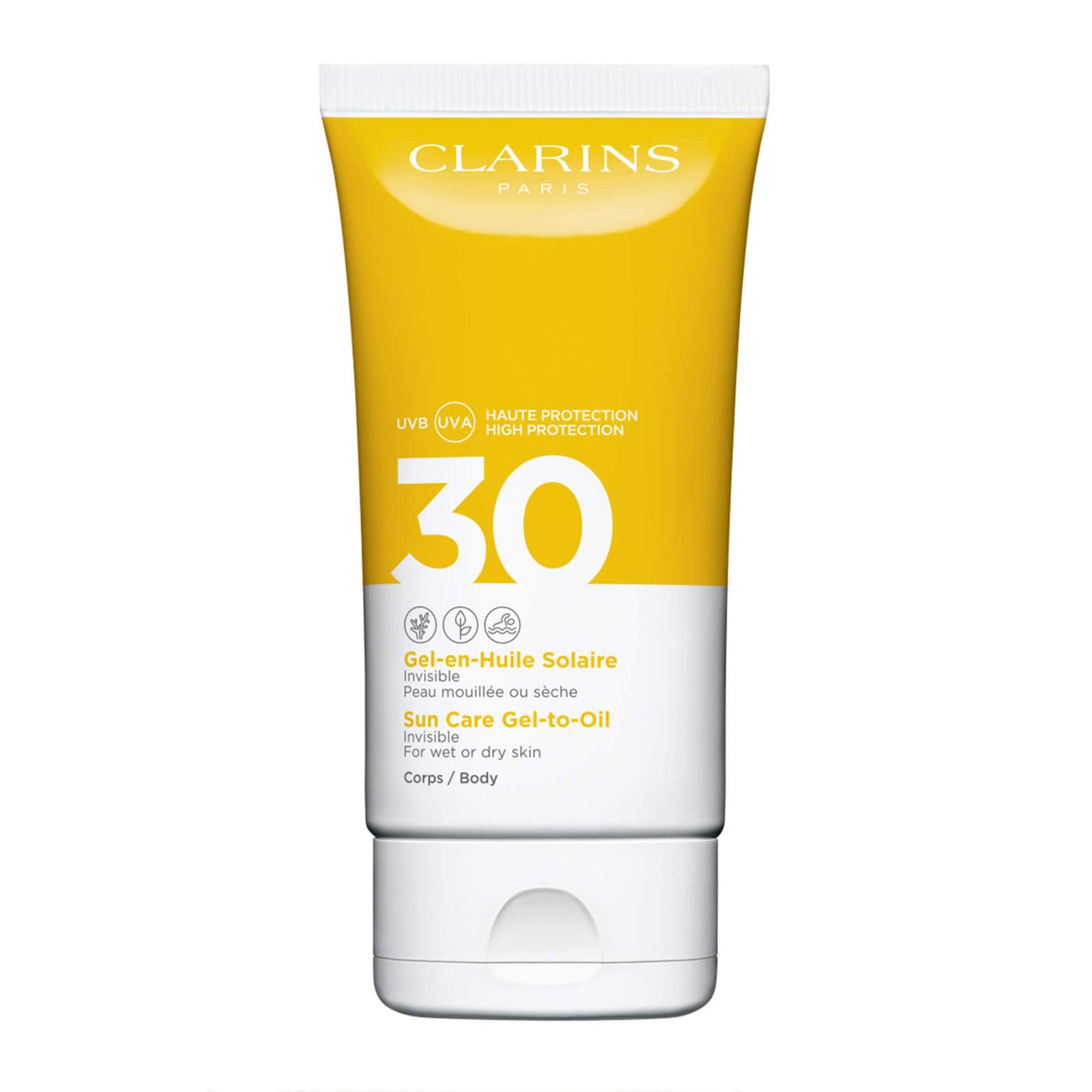 CLARINS - Sun Care Gel-To-Oil for Body SPF30 £22