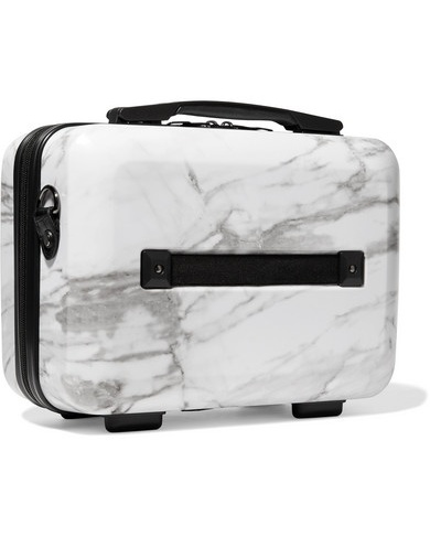 CALPAK - Astyll Marbled Hardshell Vanity Suit Case £69.84