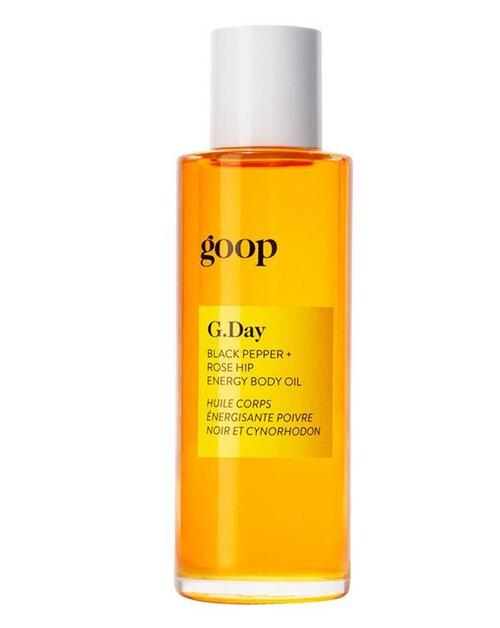 GOOP - G.Day Black Pepper + Rose Hip Energy Body Oil £54