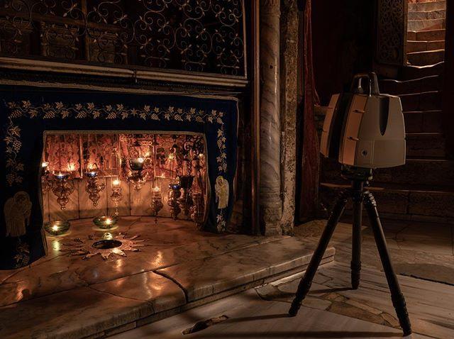 Quiet nights spent capturing the Nativity Star - Bethlehem.✨