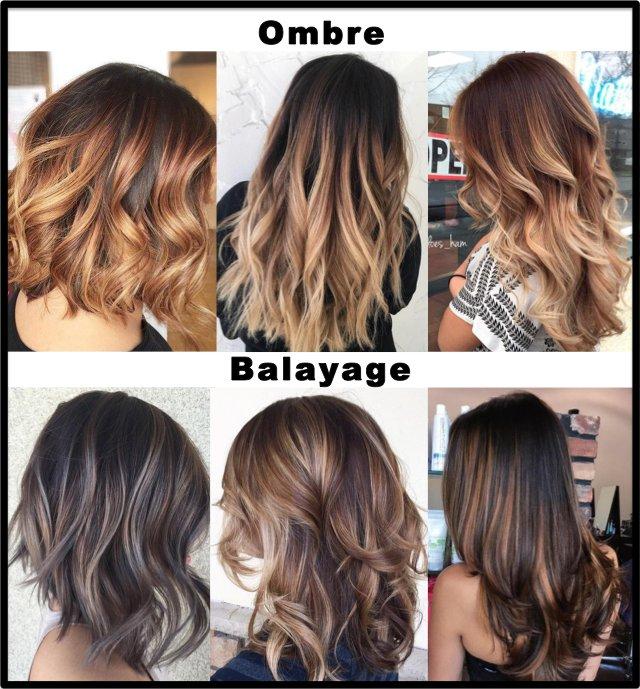 Image 2: Perbedaan teknik cat rambut Ombre dan Balayage