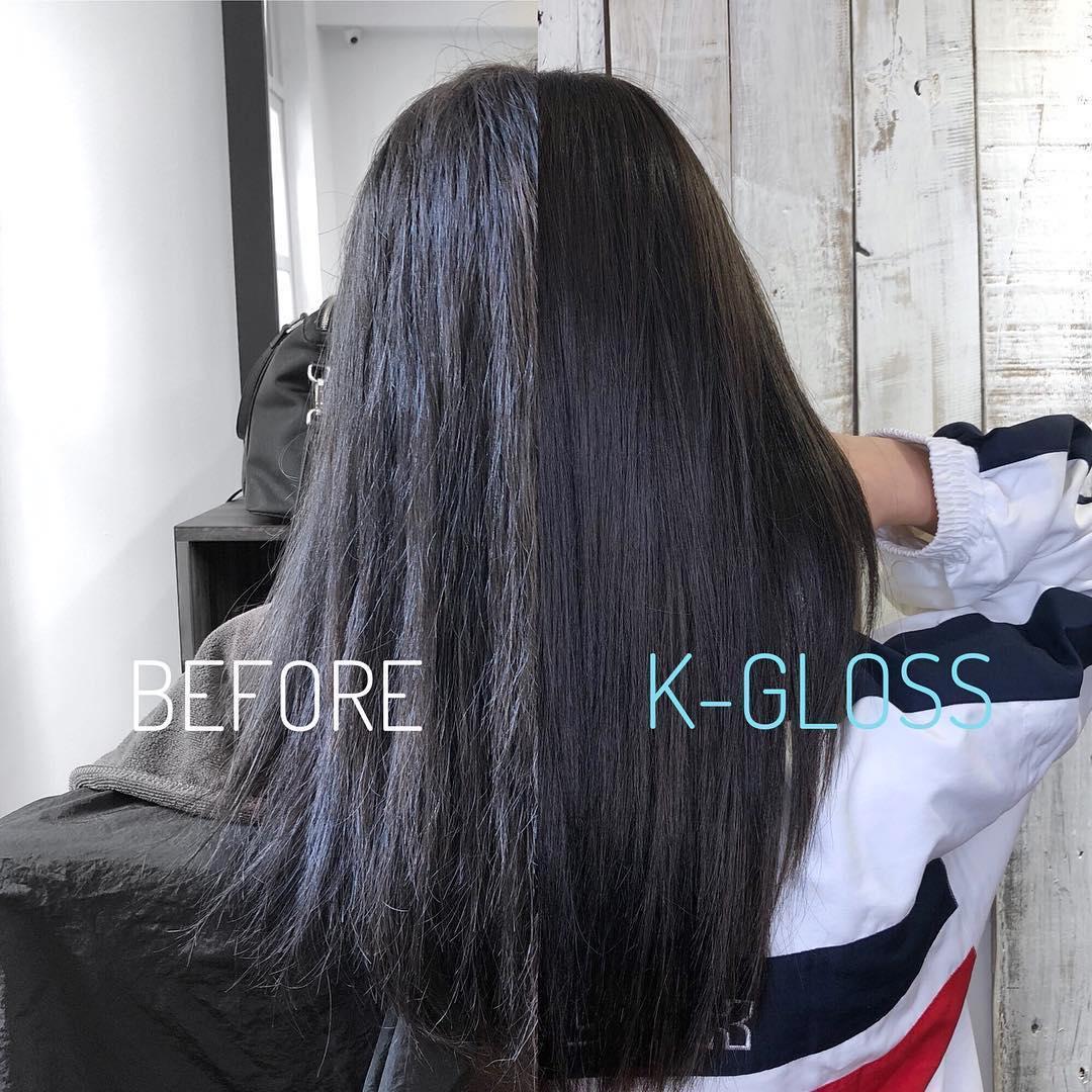 keratin treatment by K-Gloss