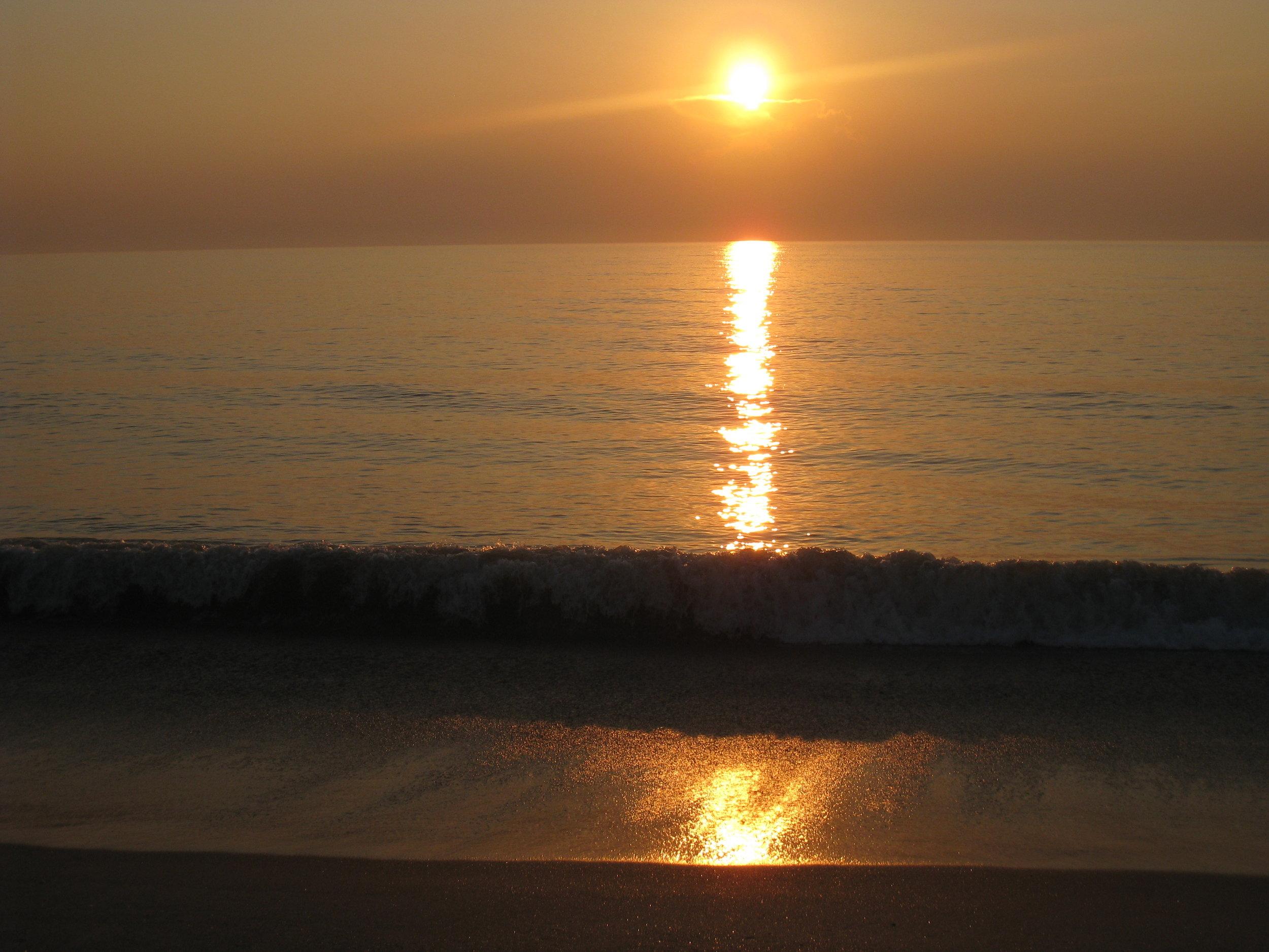 Sunrise, June 13, 2009