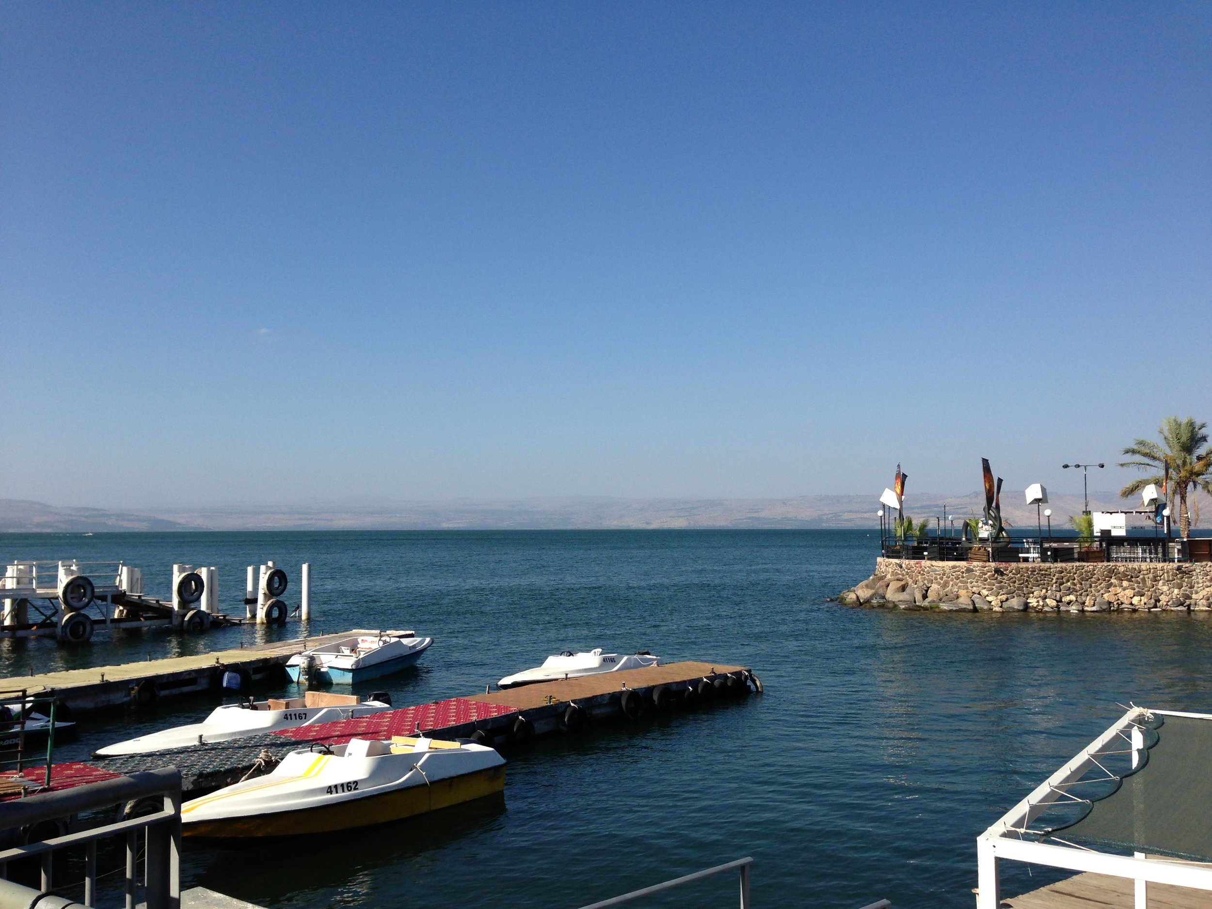 The Sea of Galilee, 2013