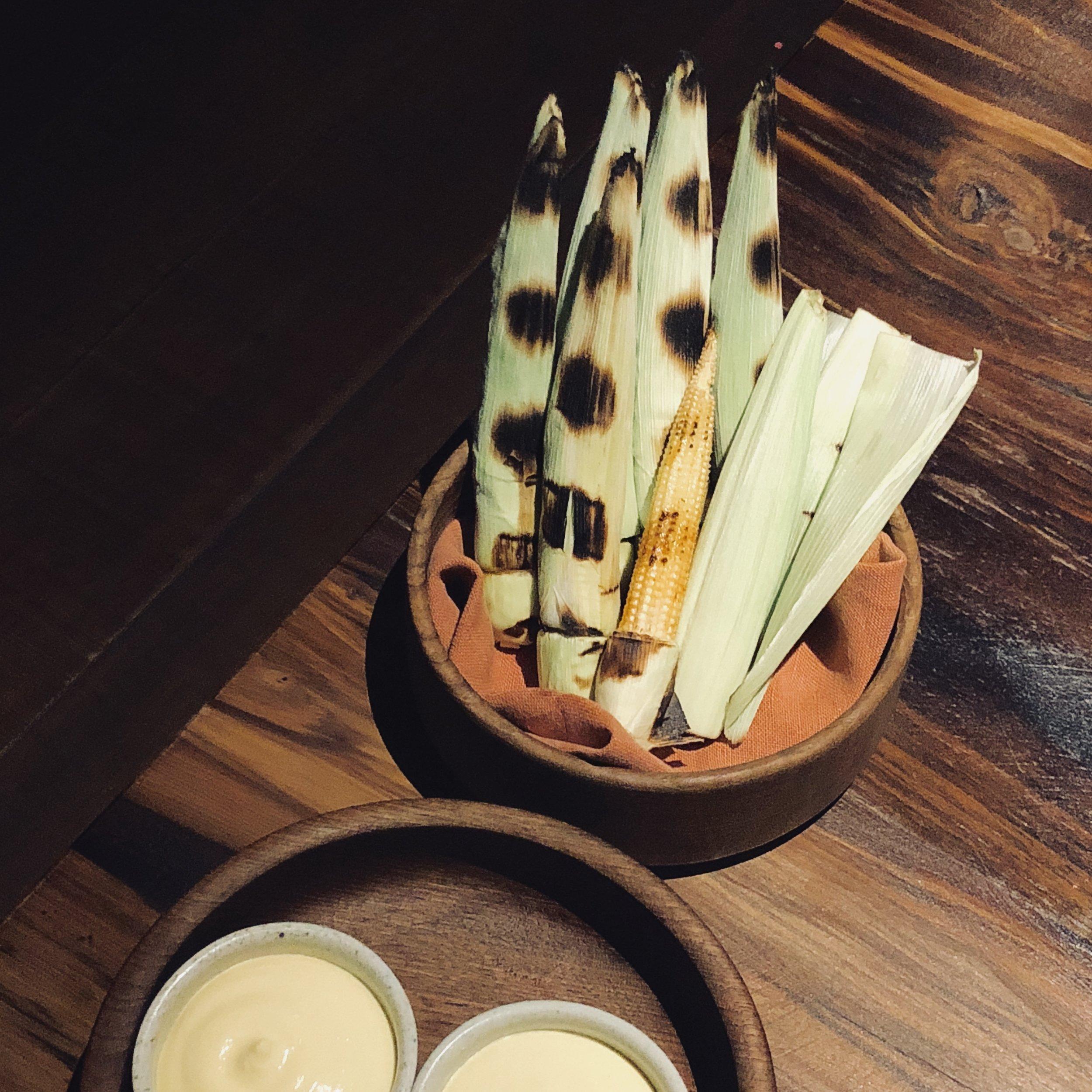 Pre-Cut Grilled Corn