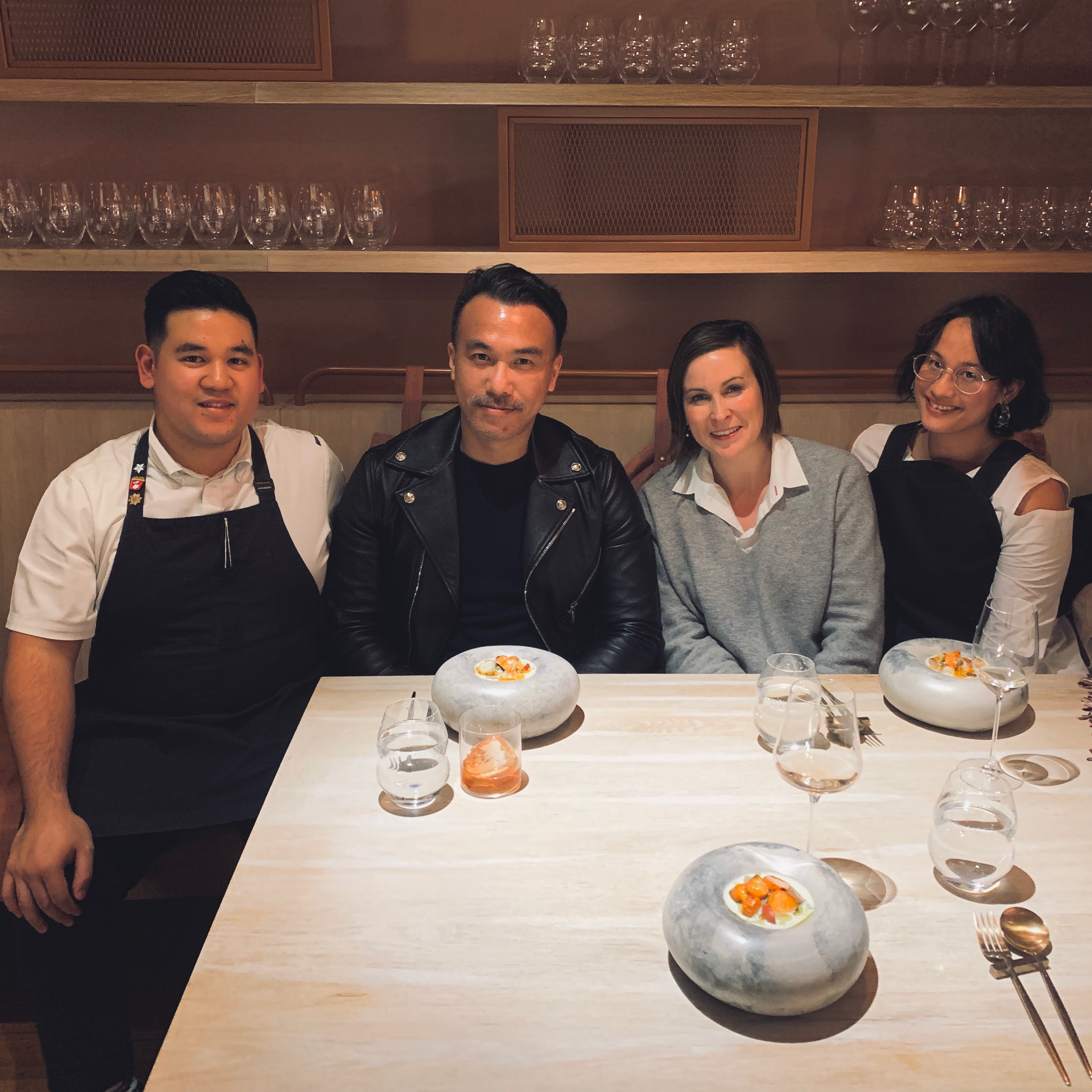 Chef John Rivera, Myself, Design Anthology Editor-in-Chief Suzy Annetta, and the Fabulous Sandra Tan.