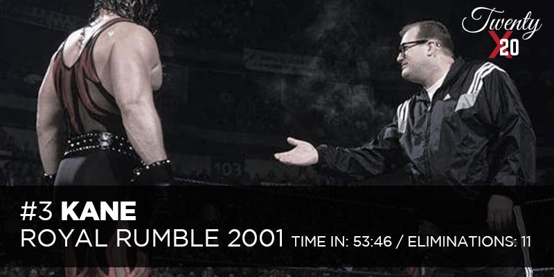Kane Royal Rumble 2001