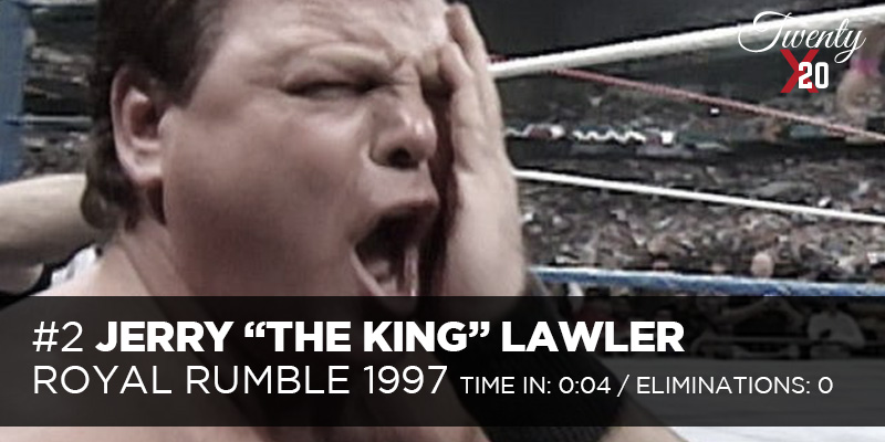 Jerry Lawler 1997 Royal Rumble