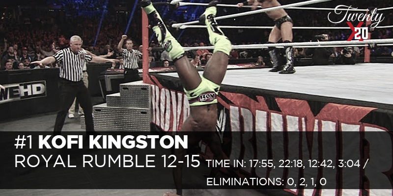 Kofi Kingston Royal Rumble