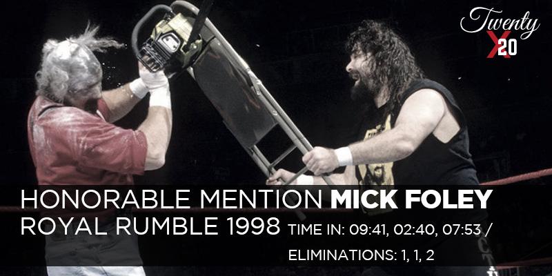 Mick Foley Royal Rumble 1998