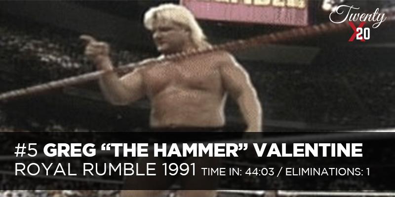 Greg Valentine 1991 Royal Rumble
