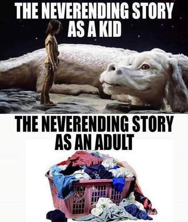 Well isn't that the truth...!! Good thing we're geared up and ready to help you with that never-ending story this Saturday, April 13th (11am-1pm)!! . Stop by City Limits in Walnut Hills for our free laundry day! Link in bio for details! 💙 . . #Give #Health #Hygiene #Compassion #Empathy #ActsOfKindness #501c3 #NonProfit #Volunteer #Donate #MakeTheWorldABetterPlace #TakeAction #Fundraising #Community #Laundry #Love #Socks  #Cincinnati #WalnutHills #EastWalnutHills #LaundryLove