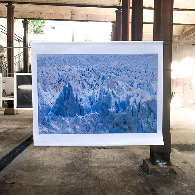 Image from current exhibition, Glacier, at Paddington Reservoir @headonphotofest until May 19 . . . #tiffanykenyonphoto #patagoniaargentina #glacier #photoexhibition #whatsonsydney #headonphotofestival #thingstoseesydney ⠀⠀⠀⠀⠀⠀⠀⠀⠀ #ParquesNacionales #peritomoreno #GlaciarPeritoMoreno #7MaravillasNaturalesArgentinas #ElCalafate #Tierradeglaciares #ourplanet #glacierart  #bluenature  #amazingnature #protectglacier #photostory #globalcapture #natgeotravel #exploremore #wilderness #travelphotographer #roadlesstraveled #climatechange #mothernature #sacrednature #planetearth #throughmylens