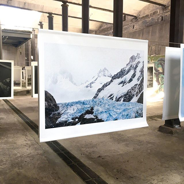 Image from current exhibition, Glacier, at Paddington Reservoir @headonphotofest until May 19 . . . #tiffanykenyonphoto #patagoniaargentina #glacier #photoexhibition #whatsonsydney #headonphotofestival #thingstoseesydney ⠀⠀⠀⠀⠀⠀⠀⠀⠀ #ParquesNacionales #Tierradeglaciares #ourplanet #glacierart  #bluenature  #amazingnature #protectglacier #photostory #globalcapture #natgeotravel #exploremore #wilderness #travelphotographer #roadlesstraveled #climatechange #mothernature #sacrednature #planetearth #throughmylens