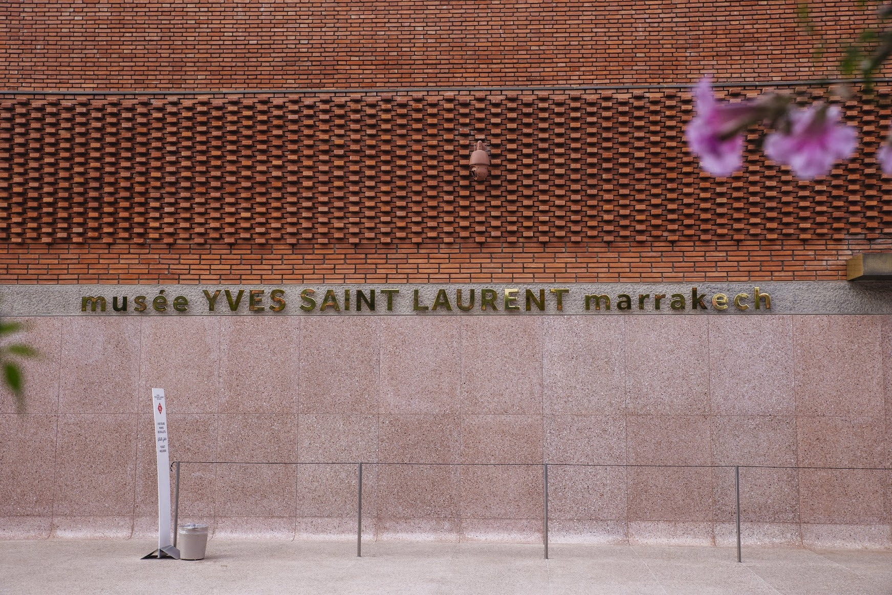 Visit to the Yves Saint Laurent Museum which was great, but unfortunately, you can't photograph so you'll have to take my word for it (or visit yourself).