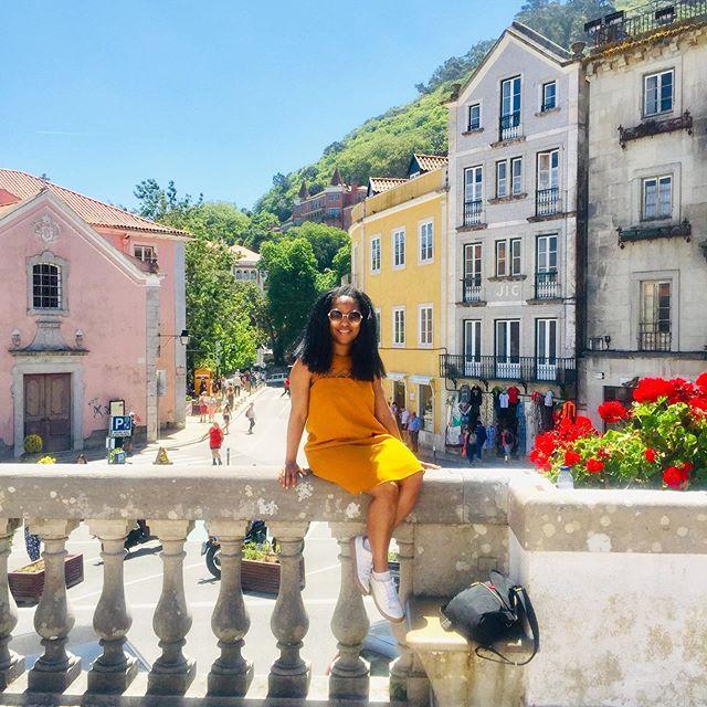 😎 . . . . #shendovetravels #portugal #sintra #blacktravelers #travelnoire