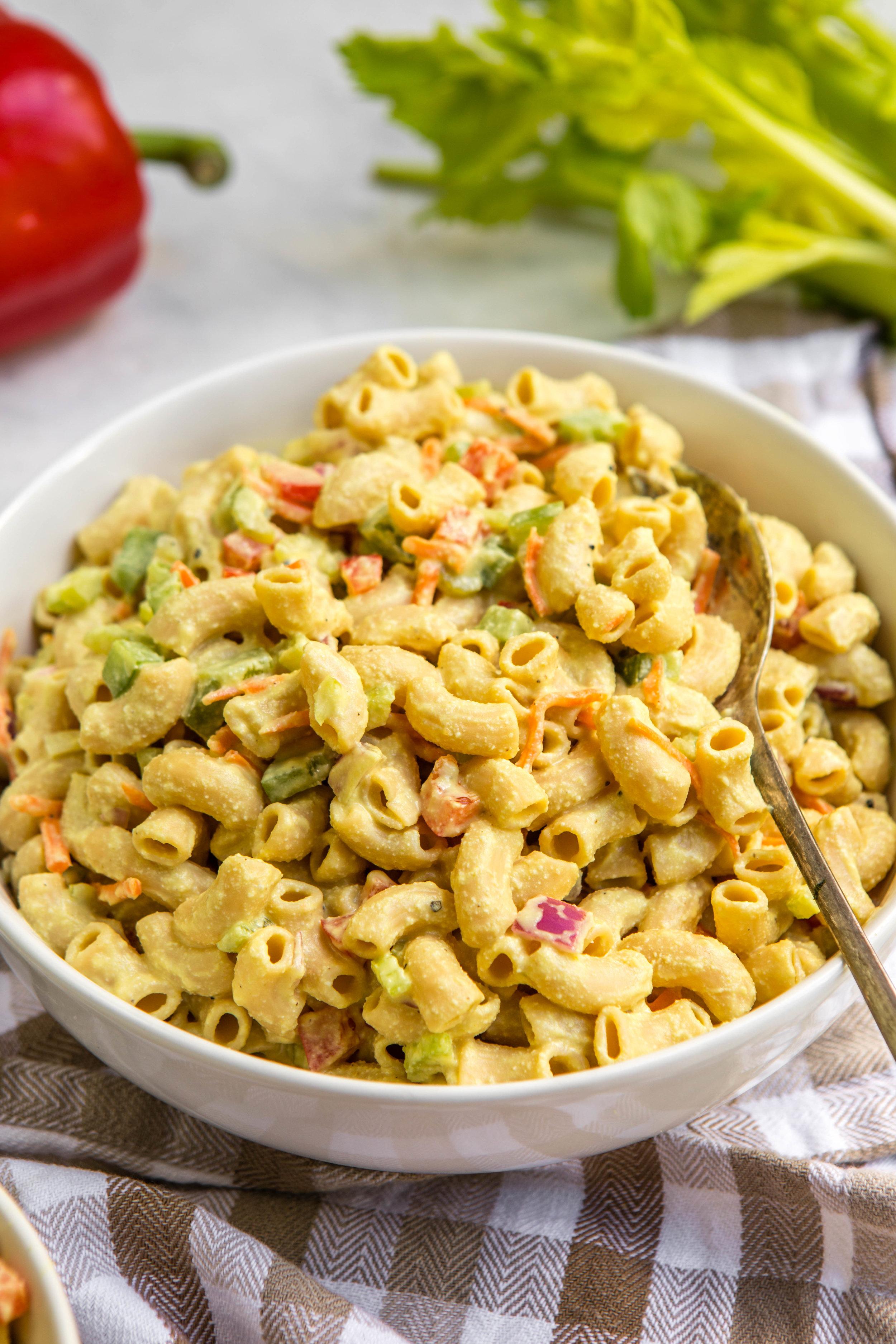 Vegan Macaroni Pasta Salad    From My Bowl
