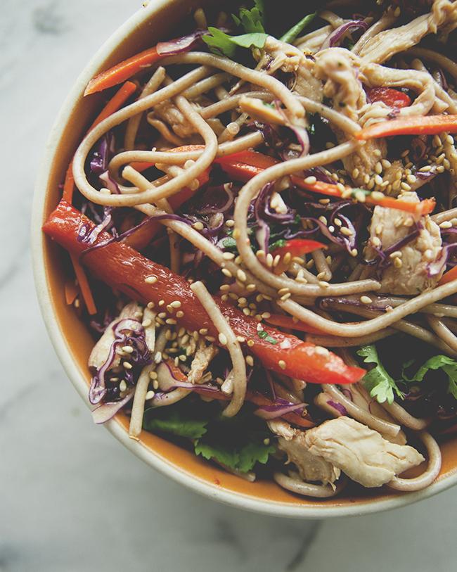 Soba Noodle Salad    Kitchy Kitchen