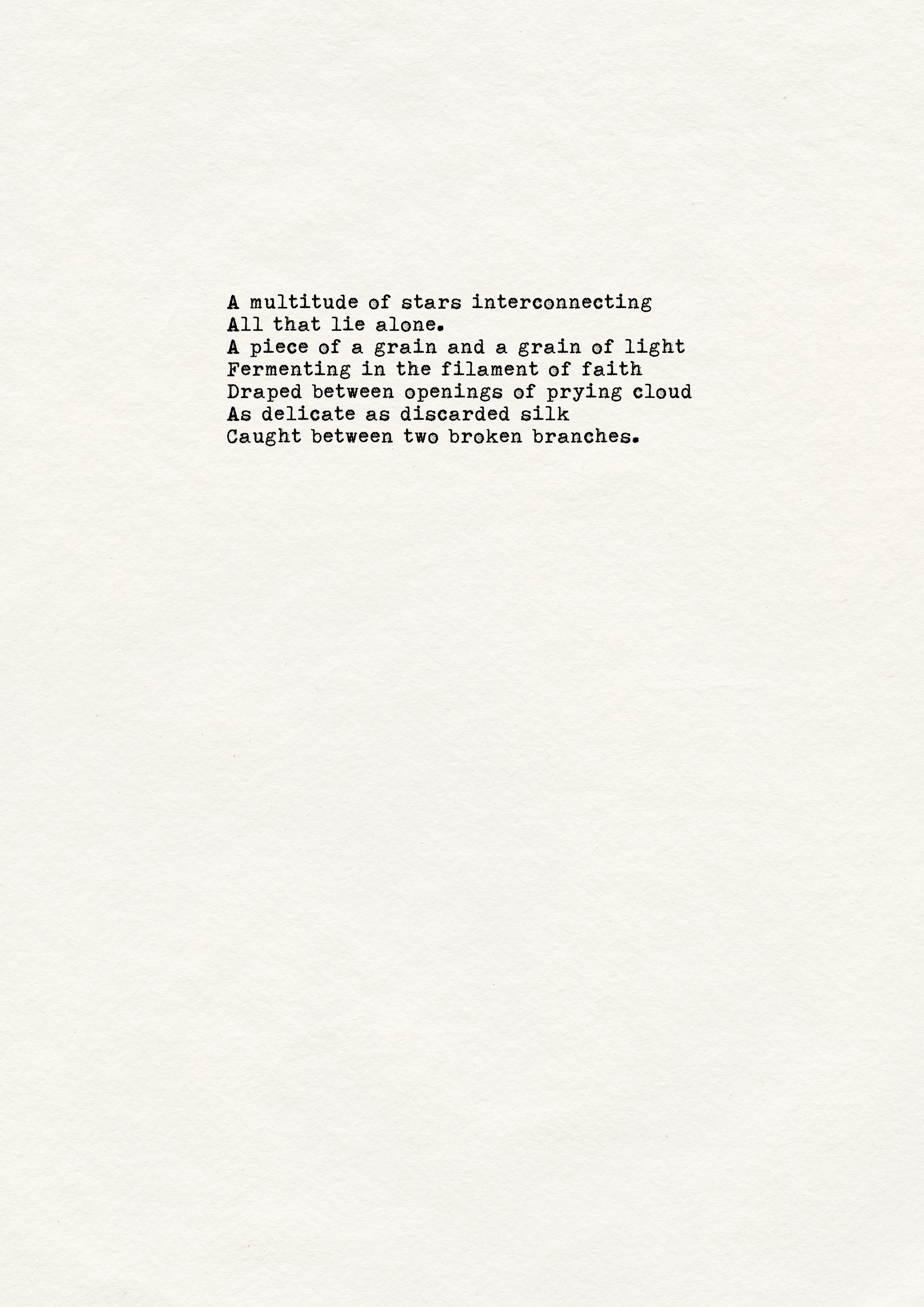 Rebecca Rose Harris, Rebecca Rose Harris Poetry