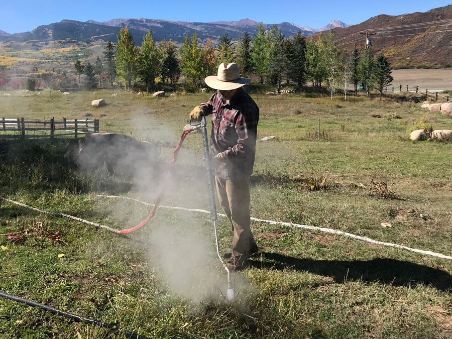 Organic pastures and ranches. Keeps animals and employees safe from toxic chemicals