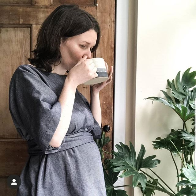 Beautiful @hermionespantry looking amazing in our denim Kora dress at 26 weeks pregnant. Definitely hot chocolate weather today! 💕  #maternitydress #maternitystyle #maternityfashion #breastfeedingfriendly #breastfeeding #denimdress #dress #pregnancystyle #ethicalfashion #sustainablefashion #slowfashion #slowfashionmovement #shopconsciously #bristolfashion #organic #organicdress #organiccotton