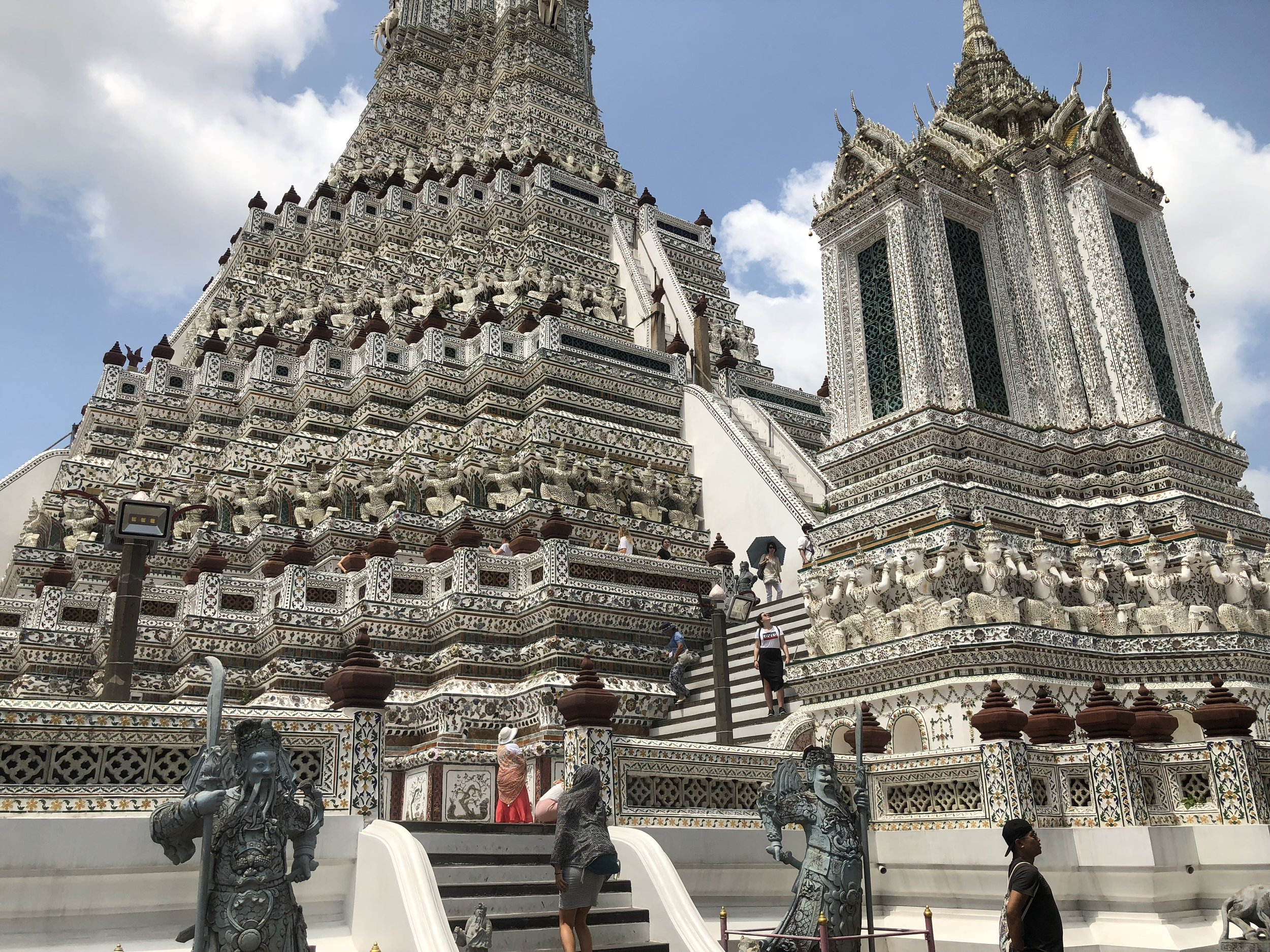 Wat Arun Temple (Temple of Dawn) in Bangkok.