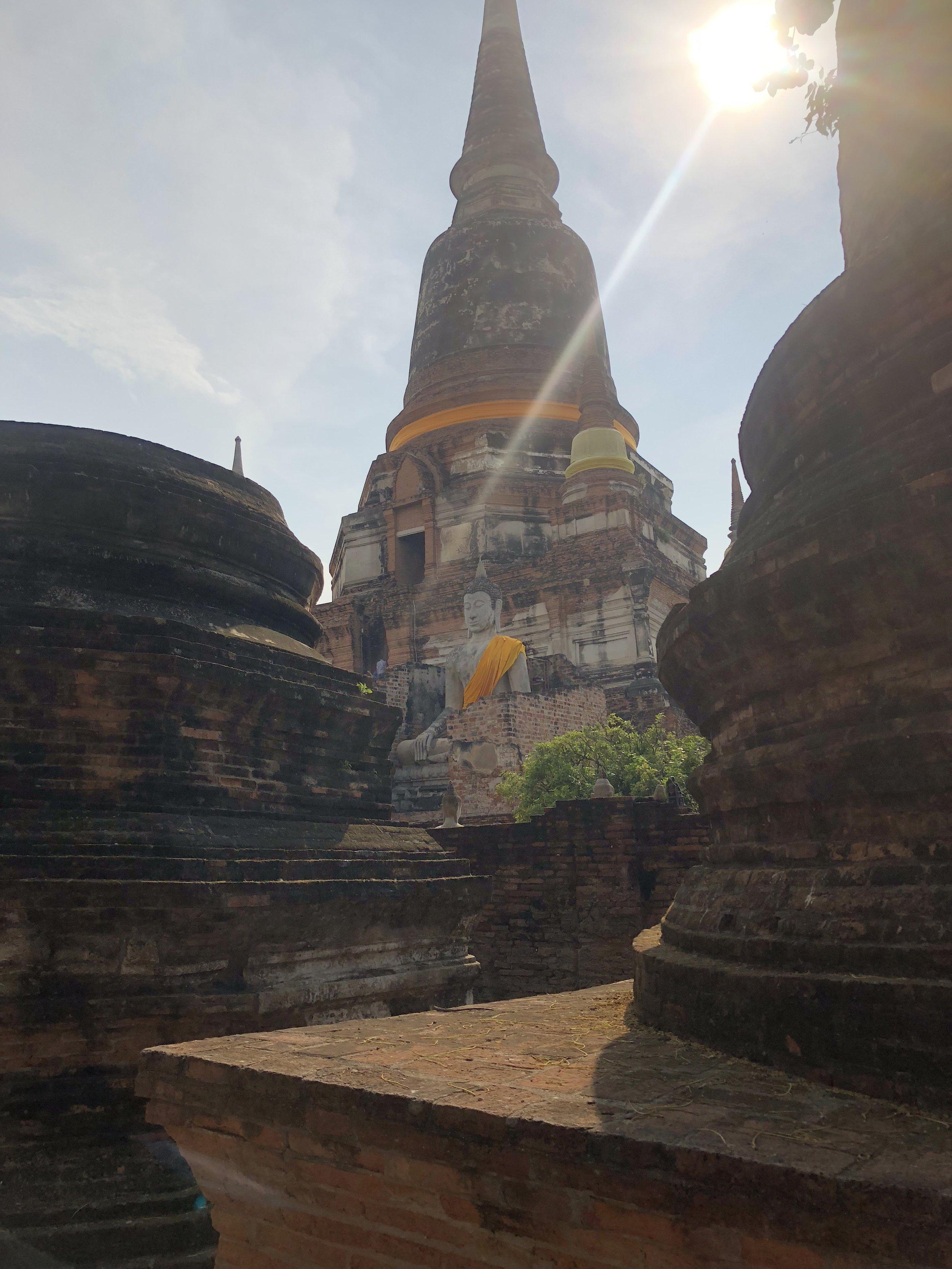 Wat Yai Chai Mongkhon Temples and ruins (Ayutthaya)