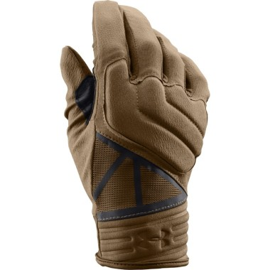 A good pair of gloves is critical to keep from feeling uncomfortable in the cold. These are tactical gloves from Under Armour, and although they're designed for shooting, they work very well in the field.