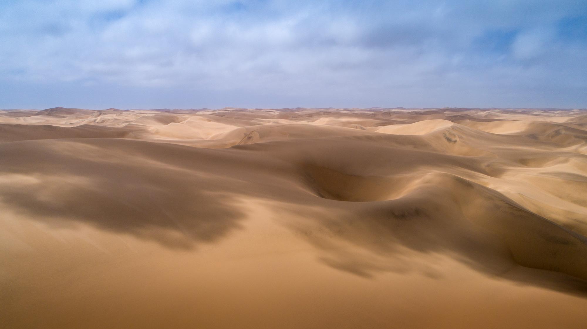 Aerial View Namib Desert