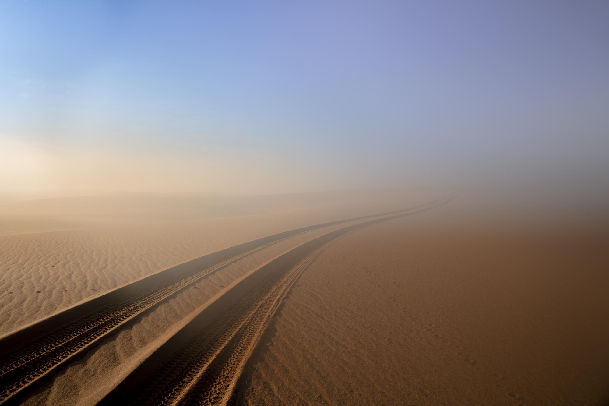 Early Morning Mist At Namib Desert