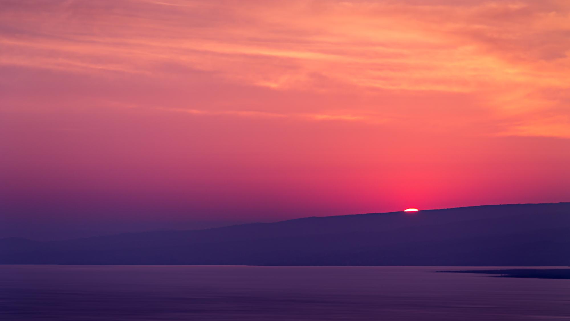 Aegean Sea Sunset