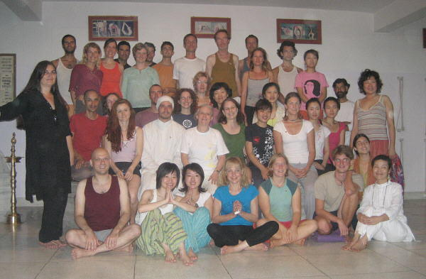 Yoga Students of the March 2007 Intensive Course