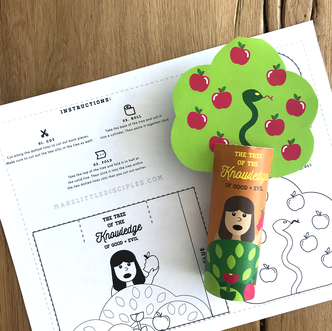Kids Craft: Tree of Knowledge