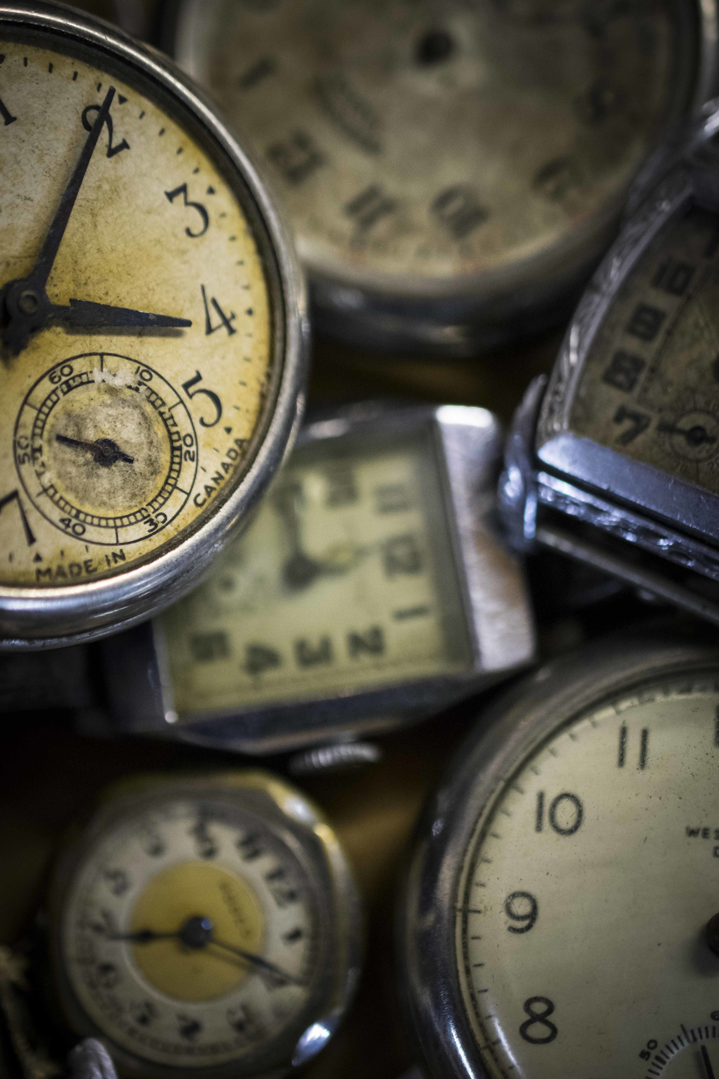 Watches - Taken at the Gay Lea Dairy Museum in Aylmer, ON