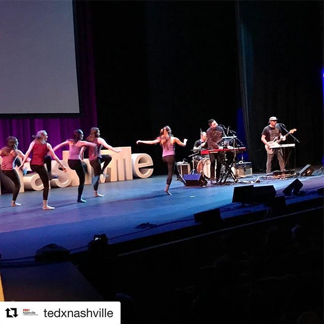 That was the best time. Thank you @tedxnashville. And huge thank you to @transitdanceco for joining us and bringing new meaning to our song with their beautiful performance. ❤❤❤ . . . #Repost @tedxnashville with @repostapp ・・・ The combination of music and dance by @chaosemeraldsmusic and @transitdanceco at #TEDxNashville2017. #NashvilleEvents #TEDx #TED #TPAC #TEDtalks #TEDxNashville