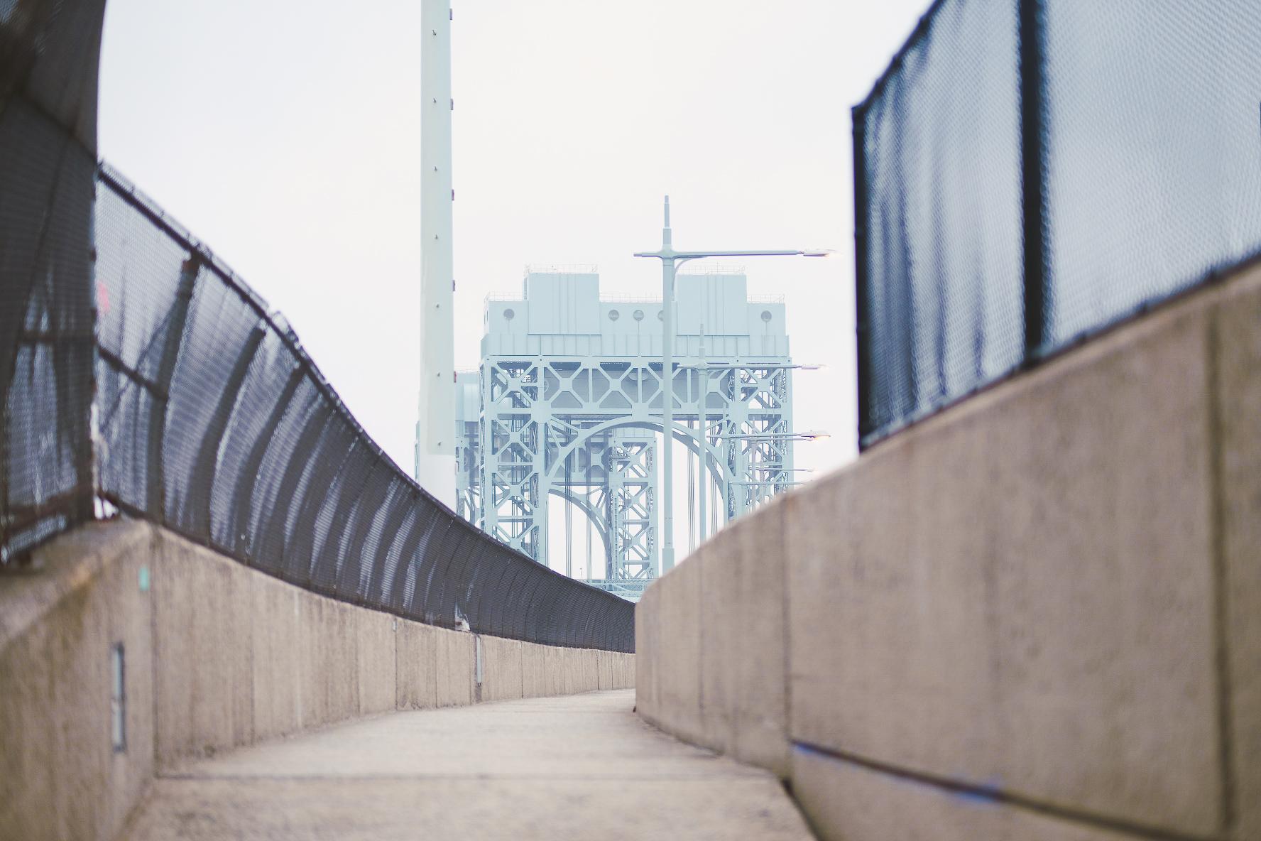 Bridge walk back into the city