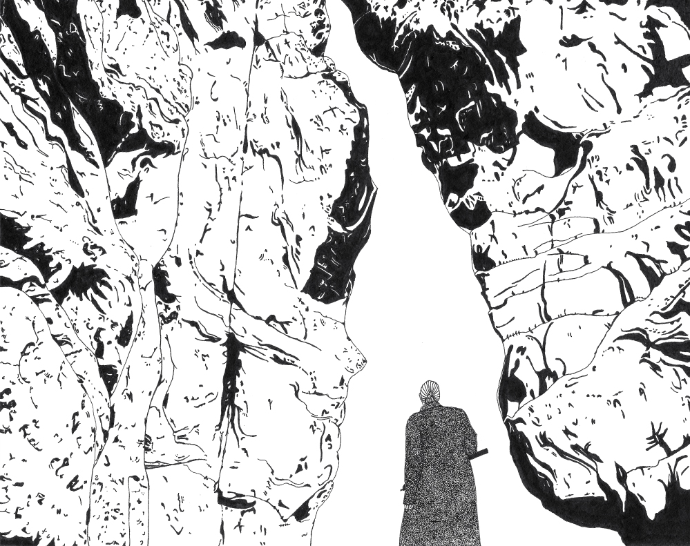 the-boy-walking-through-maiden's-rock.jpg
