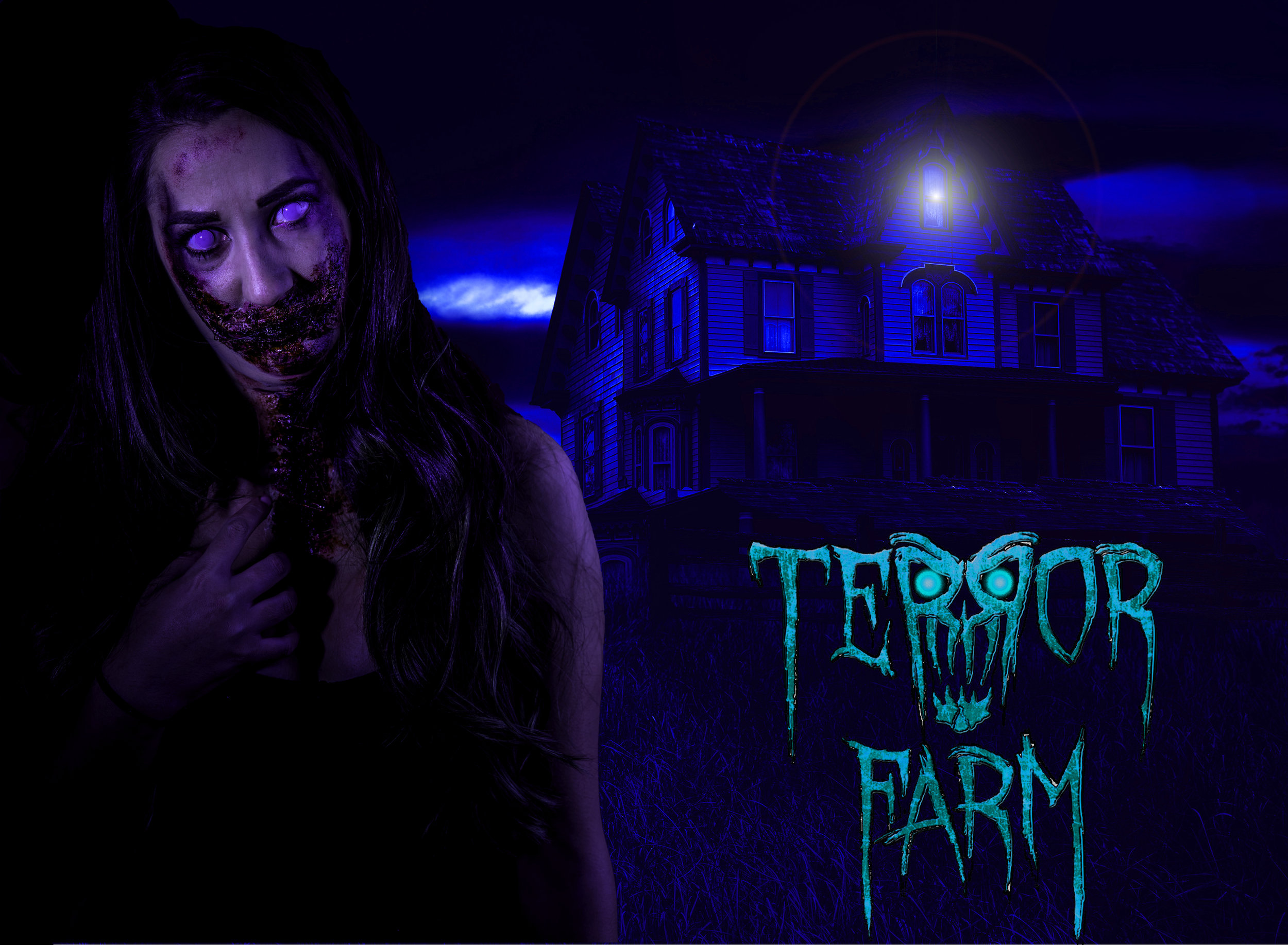 Terror Farm is open October 5th, 11th, 12th, 18th, 19th, 25th, 26th and November 1st and 2nd.  The Ticket booth opens at 6:00 P.M. Doors open at dark (approximately 6:45 p.m.) or at the discretion of the management.  THE MANAGEMENT RESERVES THE RIGHT TO STOP SELLING TICKETS AT ANY TIME BASED UPON WEATHER OR CROWD.