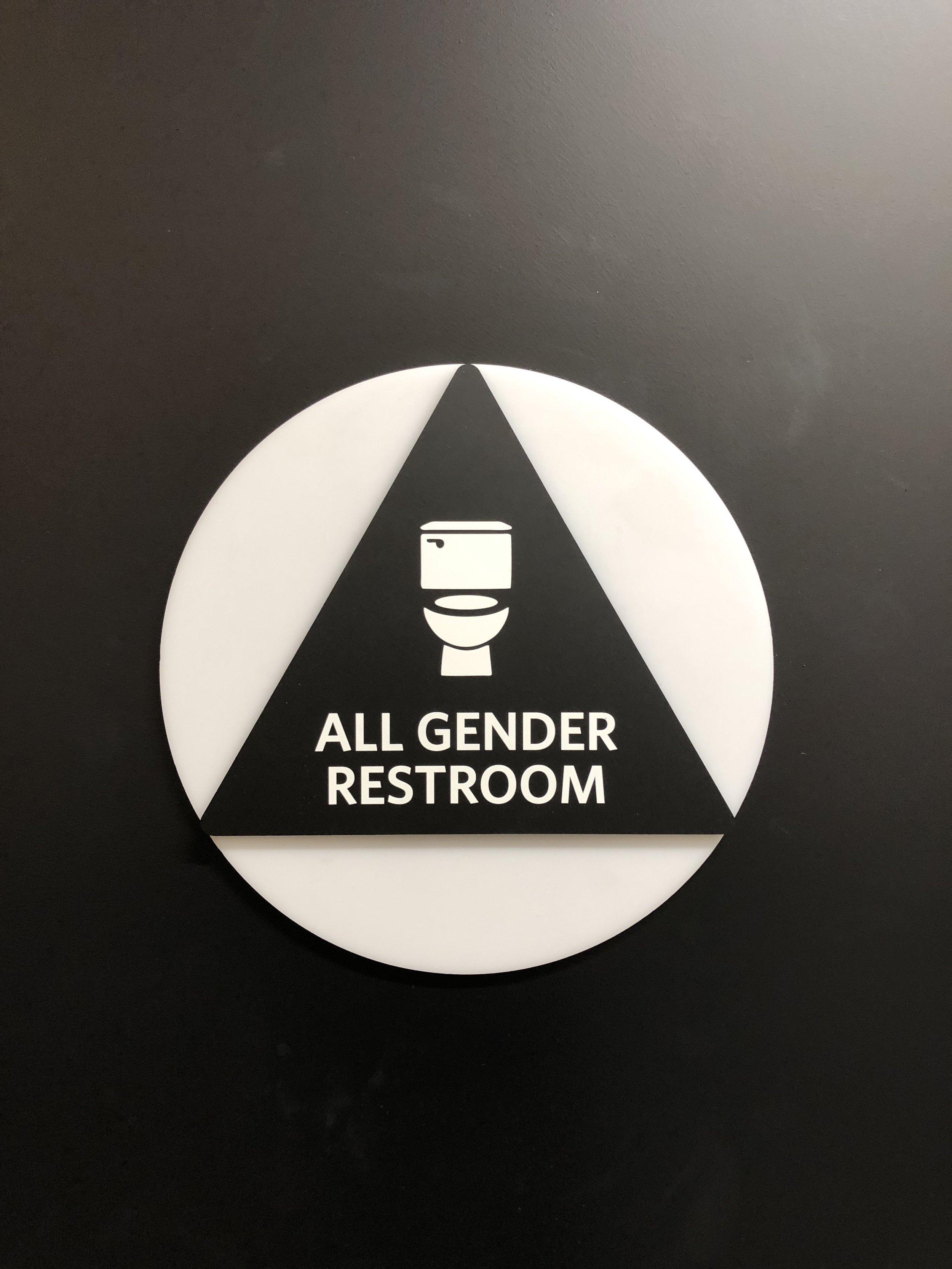 ADA Restroom Door Sign